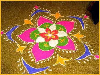 Diwali Rangoli Images, Diwali Rangoli Designs