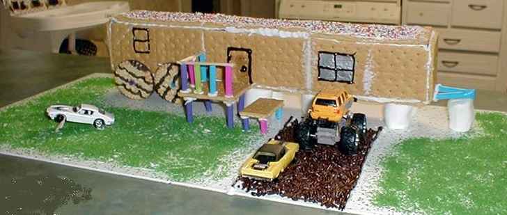 A Million Things I Love 272 Ginger Bread House Mobile