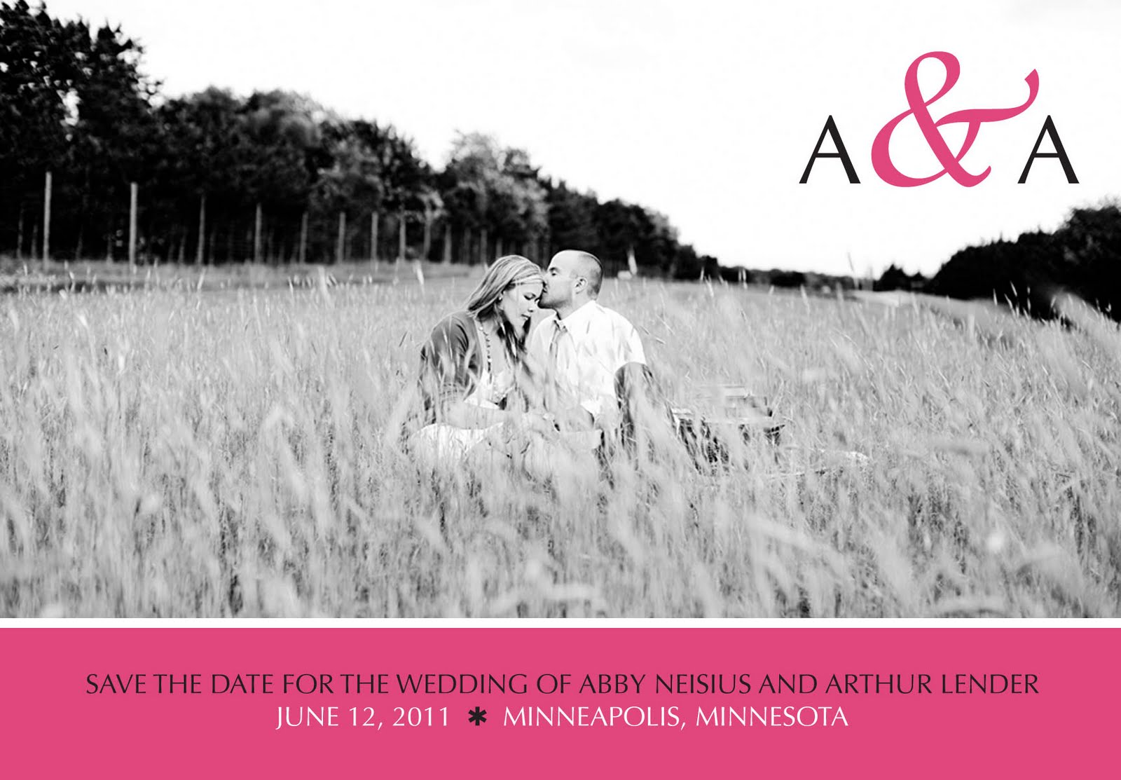 Snapdragon Cards: Save-the-Date & Wedding Invitation Package