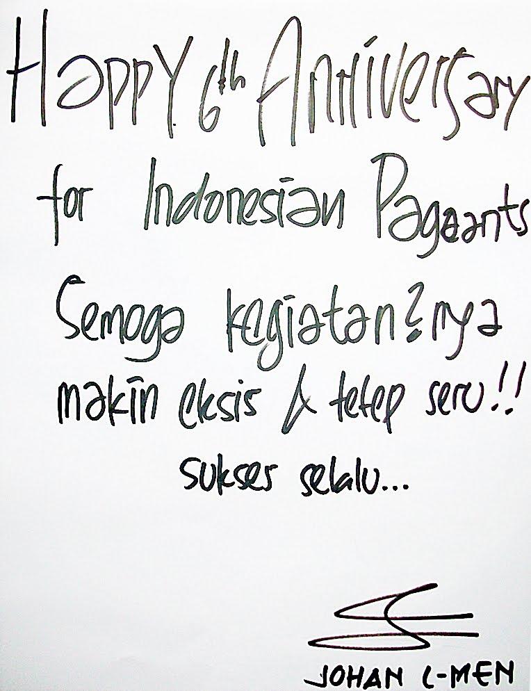 Ucapan Happy Anniversary