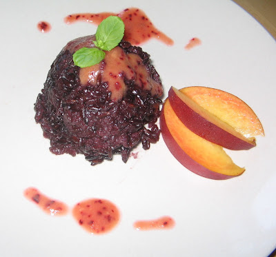Cherry Blossom's Table: Black Rice Pudding with Nectarines ...