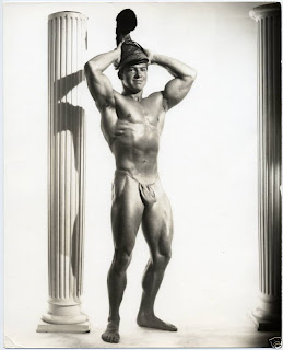 LarryScott milo romanhelmet 1950s MILO Male Nude Beefcake MR. AMERICA LARRY SCOTT