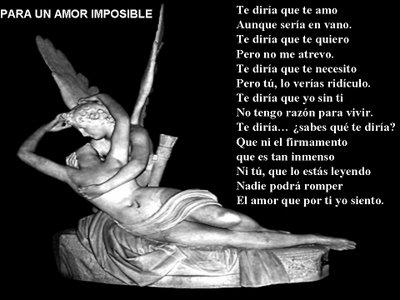 frases de un amor imposible. frases de amor imposible.