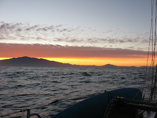 Sunrise from the West