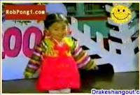 cute little girl singing & dancing