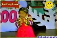 cute little girl singing & clapping hands