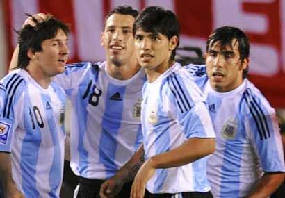 Analise de selecção : Argentina Argentina006