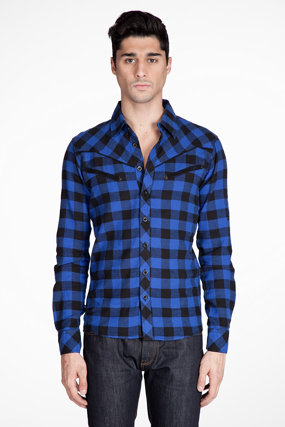 A man of style gingham shirt a must have for spring for Untucked dress shirt with tie