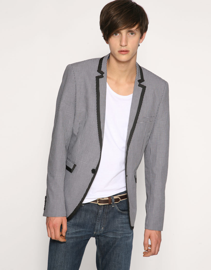 A MAN OF STYLE! Findings - Gingham Blazer From ASOS Tailoring