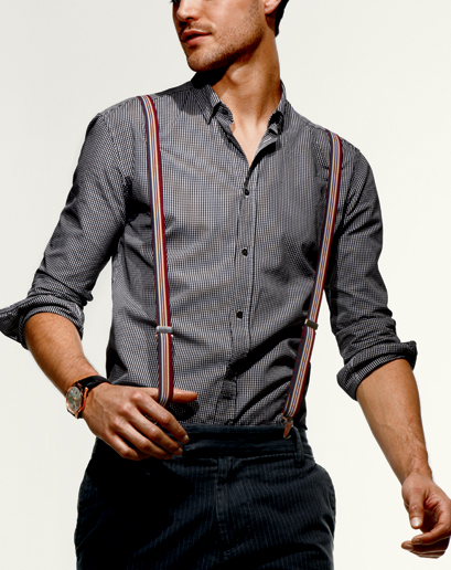 Wear for men how to suspenders
