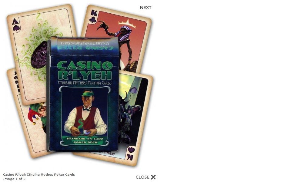 Lady Lovecraft @ blogspot.com: Casino R'lyeh Cthulhu Mythos Poker ...