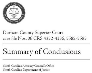 North Carolina Attorney General's Office - Summary of Conclusions
