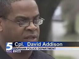 DPD Hoax Spokesman Cpl. David Addison