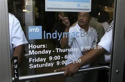tensions run high at Indy Mac branches in CA