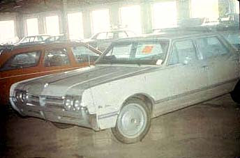 Otero family car January 1974