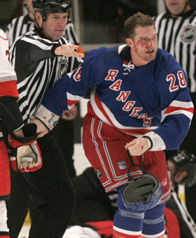 Colton Orr: The best hockey fighter for the buck in the NHL