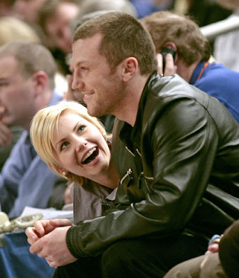 Sean Avery and actress Elisha Cuthbert, who he trashed with sloppy seconds comment