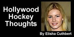 Elisha Cuthbert Hollywood Hockey Thoughts