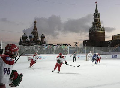 KHL All-Star game - Red Square, Moscow