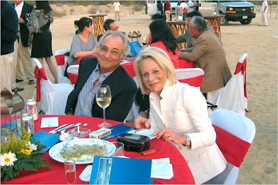 Bernard and Ruth Madoff, in Mexico in May 2008