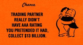 Trading Partner did not really have AAA rating, You pretend it had, Collect $13 Billion