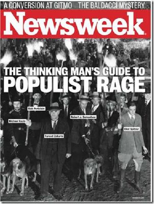 Newsweek: Populist Rage