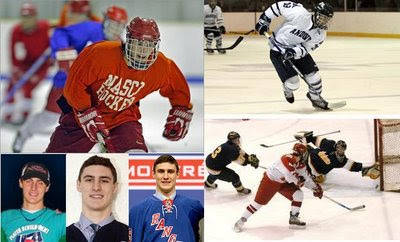 Chris Kreider - NY Rangers #1 Draft pick