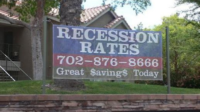 Recession Rates in Las Vegas