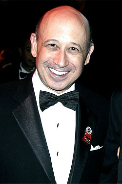 Lloyd C. Blankfein, chairman and CEO of Goldman Sachs