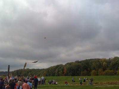 photo by ShayTotten: The big trebuchet lets one fly