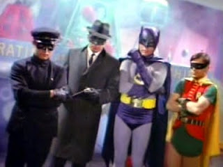 Kato, Green Hornet, Batman, Robin