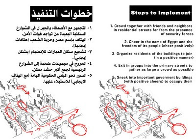 Egyptian protester handbook page 4