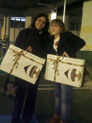 Karla y Lidia, dos bellezas de la faunapryca.