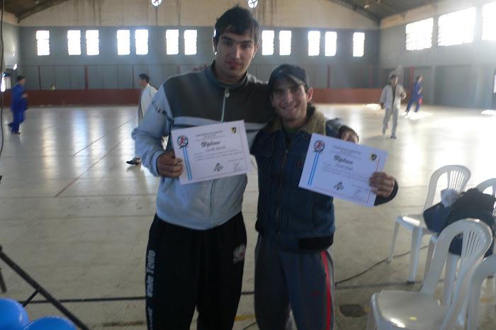 Marcelo Carrillo Y Sergio Naccaro.... Campeones Argentinos 2006