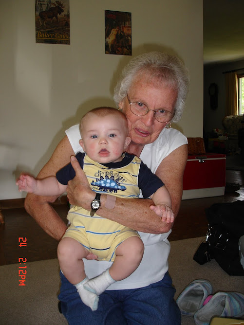 Noah with Great Grandma