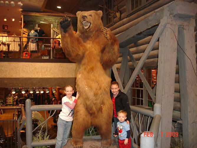 My Neices & Nephews at Bass Pro