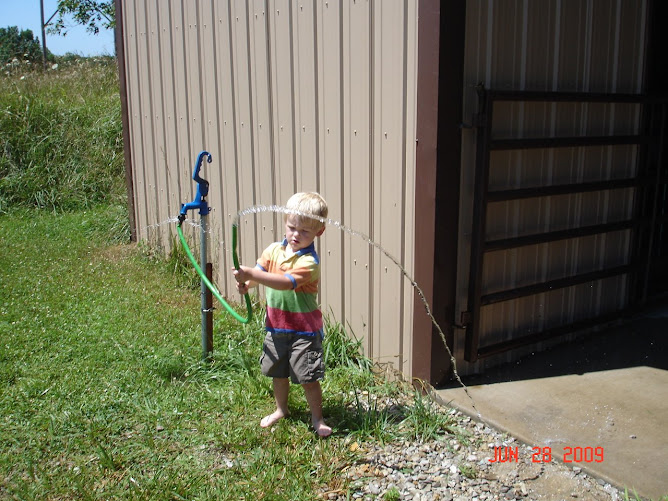 Kaden & the Hose