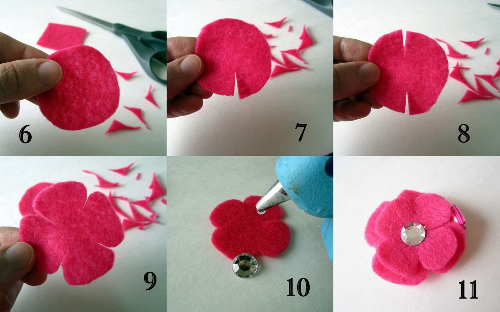 Felt Craft Tutorial on Pinterest