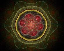 a fractal spirograph geometric effect pattern