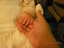 ME & TiNY iMAN's HAND