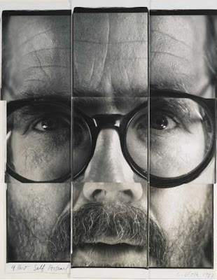 9 Part Self Portrait, Chuck Close