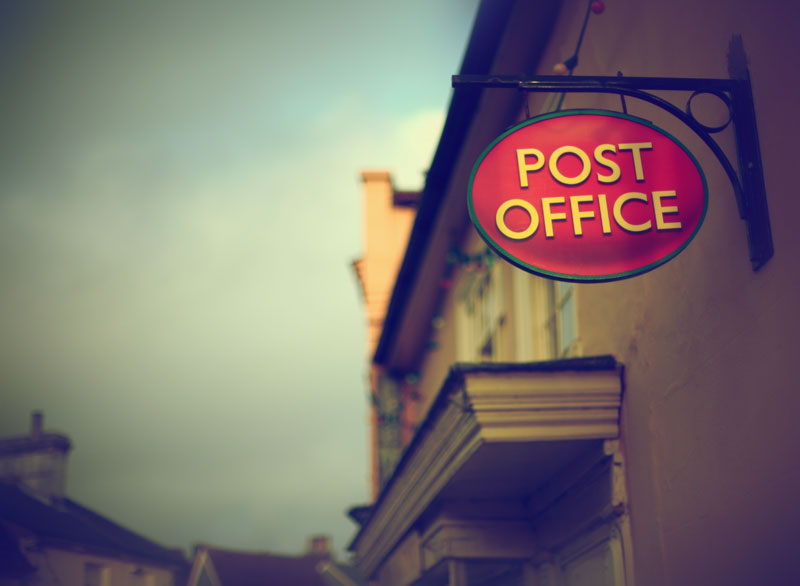 Post Office. Photograph by  Tim Irving