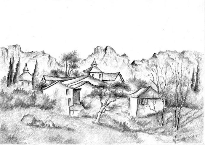 Didier71  Dessin Crayon Sanguine