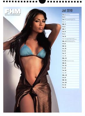 fhm calendar 2010 - 08