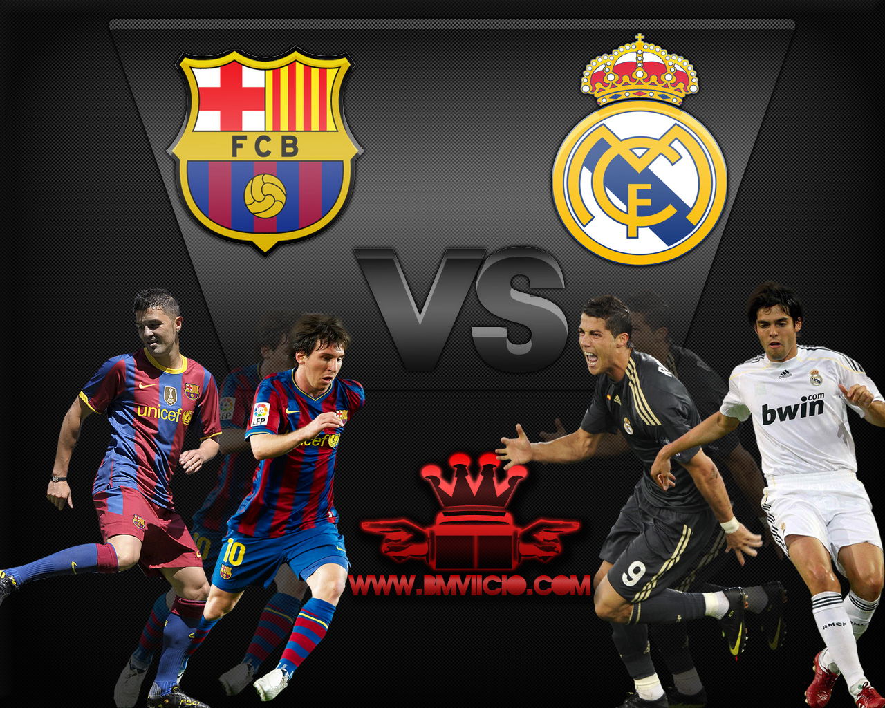 Wallpaper Barcelona Vs Real Madrid By Bmviicio