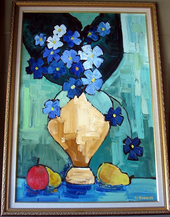 Turquoise 24 x 36_Atelier Normand Boisvert
