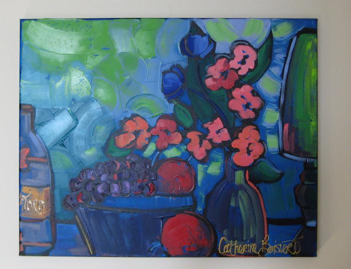 2 pommes 16 x 20_Galerie Michel Boisvert