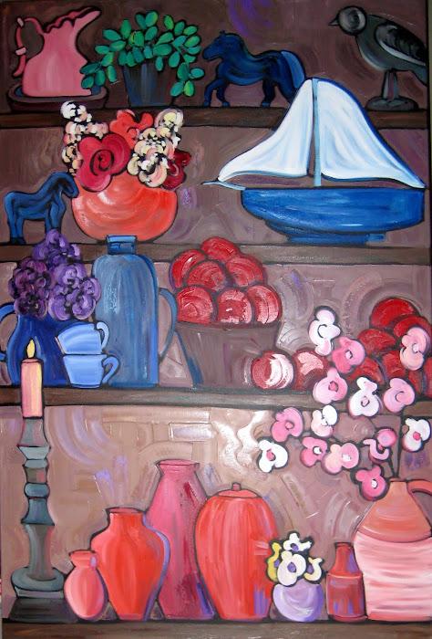 Le Bureau 60 x 40 _Atelier Catherine Boisvert
