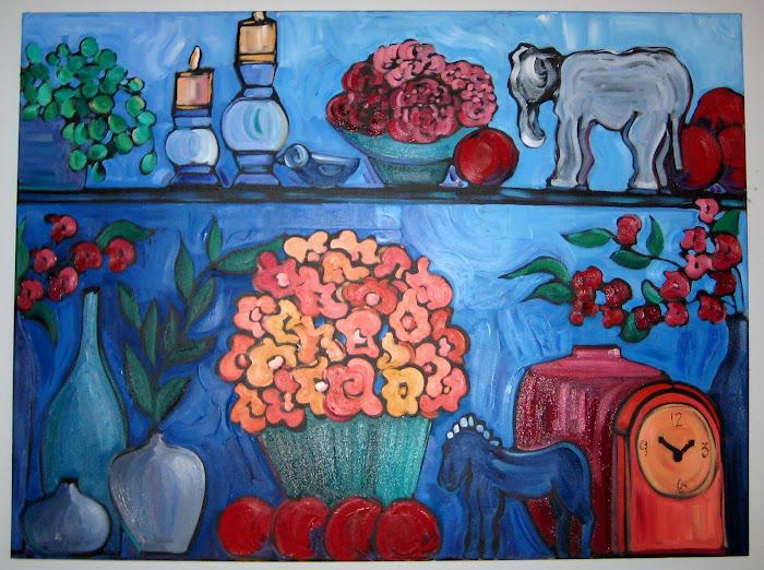 L'éléphant blanc 36 x 48_Atelier Catherine