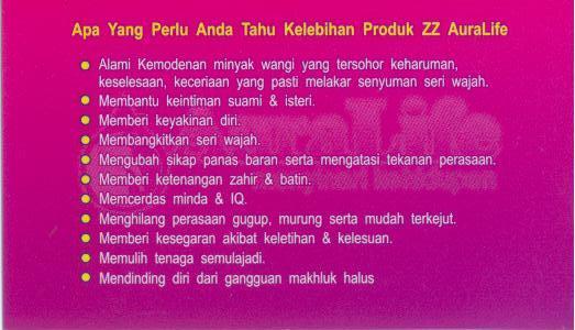 Kelebihan Produk-produk Auralife